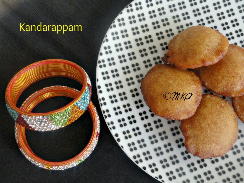 கந்தரப்பம் / Kandarappam - Traditional Chettinad Sweet | Guest Post By Sathya Priya