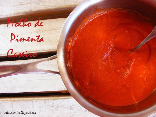 como fazer molho de pimenta ardida caseiro