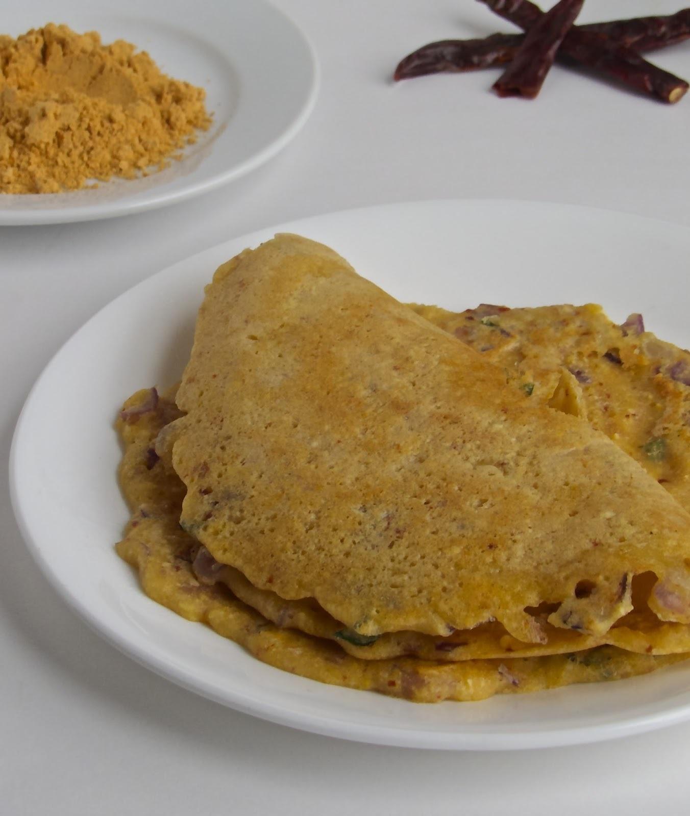 Adai _ Tamil Nadu Breakfast