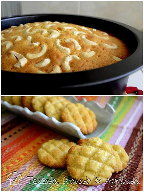 BOLO DE MAWA & BOLINHAS DE COCO (Sabores da Índia) - Desafio Daring Bakers - Agosto / 2013