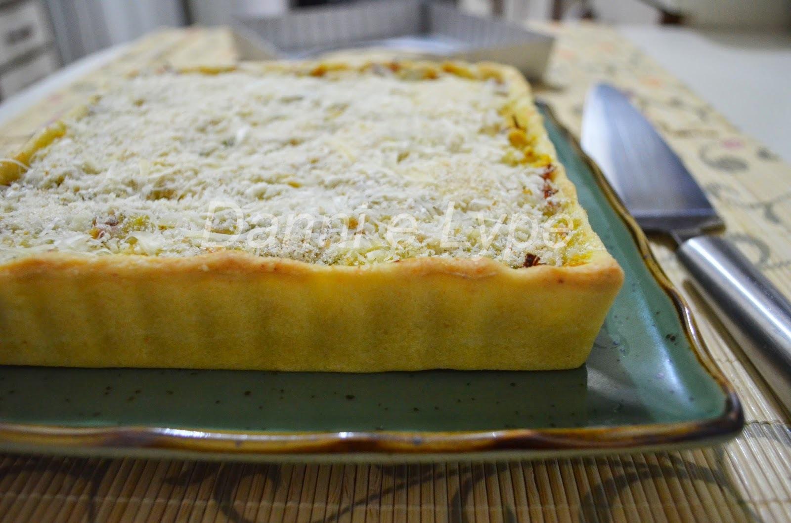 Torta de Quibebe e Carne Seca