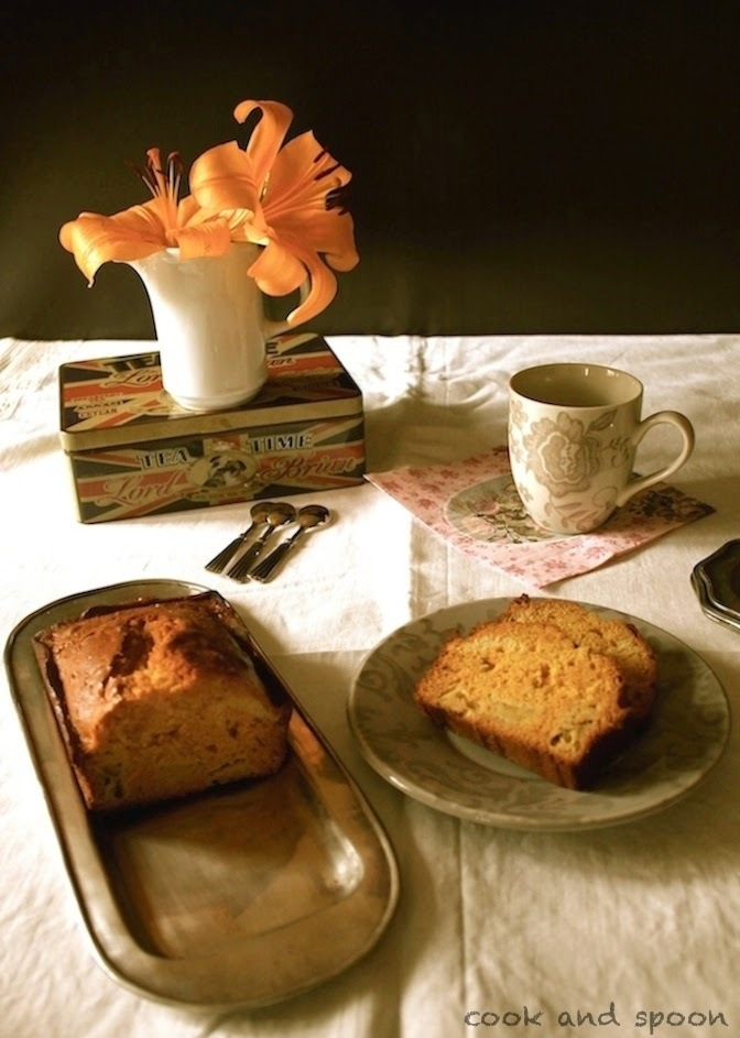CAKE DE PLÁTANO Y CARAMELO SALADO