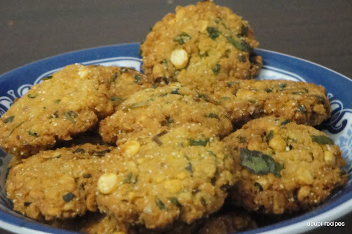 how to make masala vada crispy