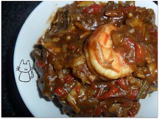 Daring Cooks #4 - Gumbo aux palourdes et aux crevettes