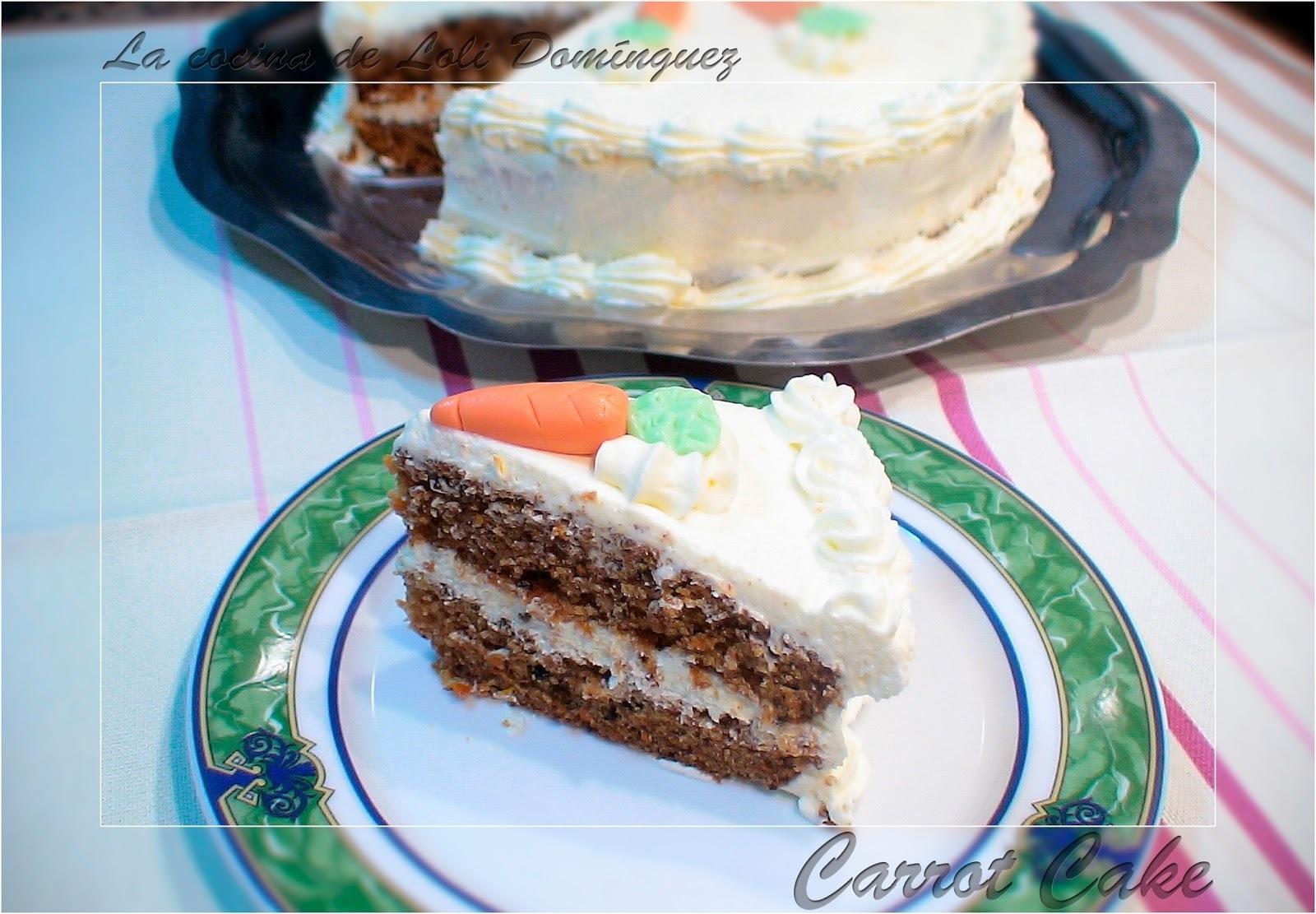Carrot CakeTarta de zanahoria con crema de queso a la naranja