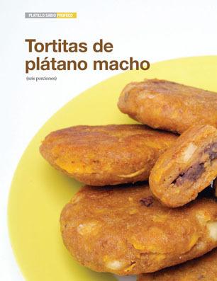 Tortitas de plátano macho