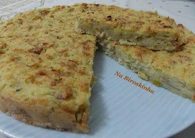 torta de peru com sobra de peru assado