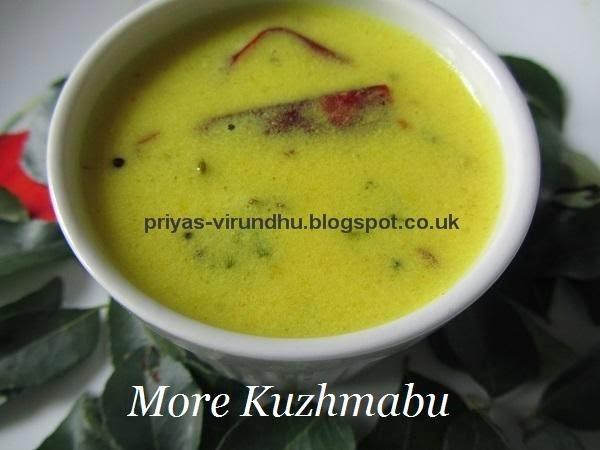 kara kuzhambu without coconut in tamil