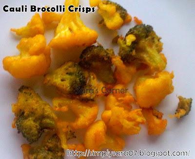Cauli Brocolli Crisps/Pakoras