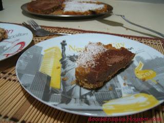 torta de bolacha doce de leite leite condensado brigadeiro
