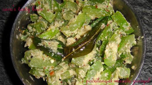 Snake gourd masala poriyal / stirfry