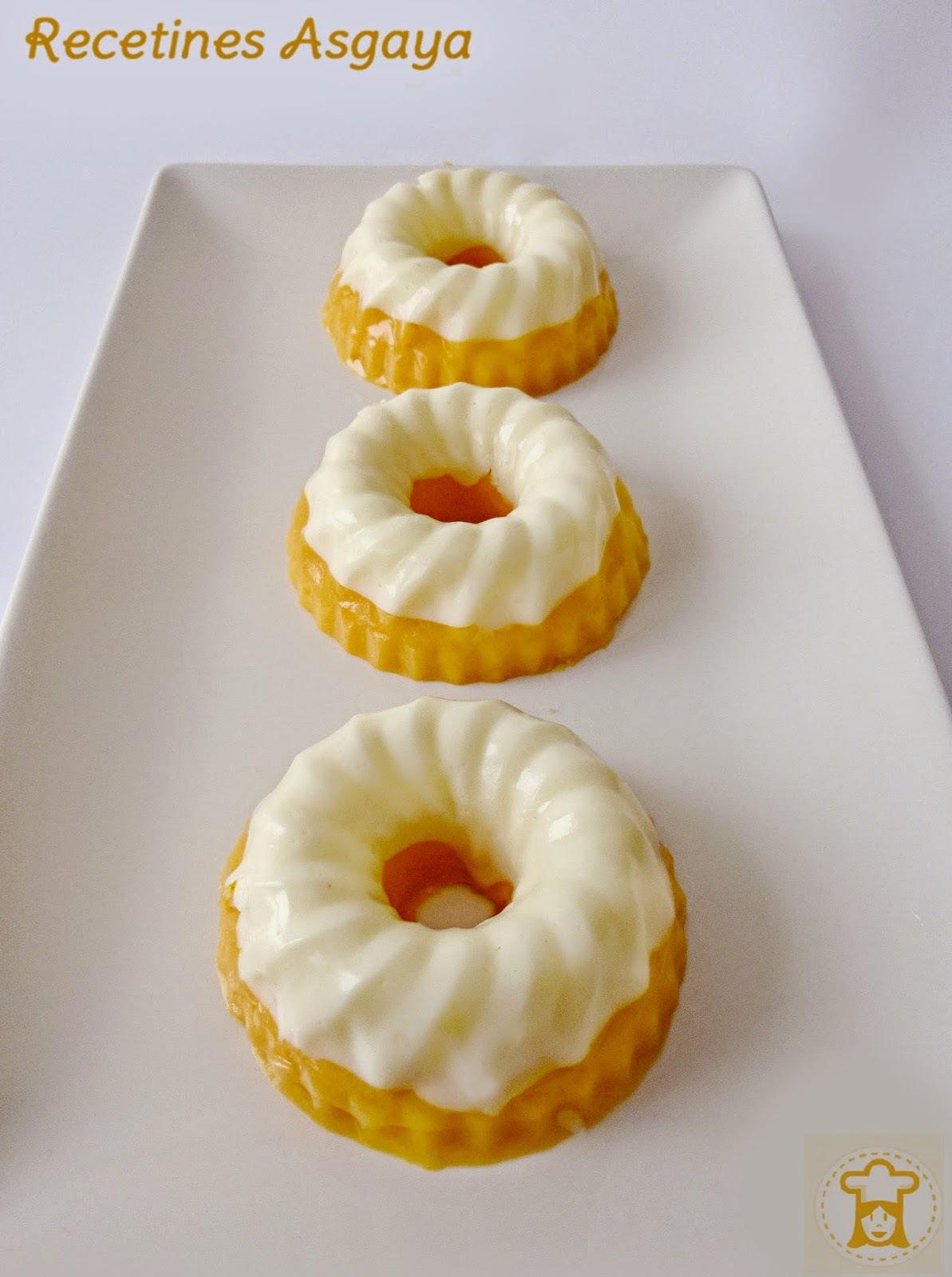 Pastelitos de Queso y Papaya