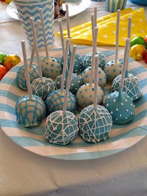 Cake Pops de manjar y chocolate: Ideales para baby shower!!