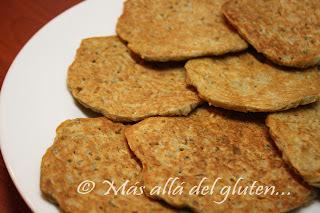 """Tortillas"" de Papas Ralladas (Receta GFCFSF)"