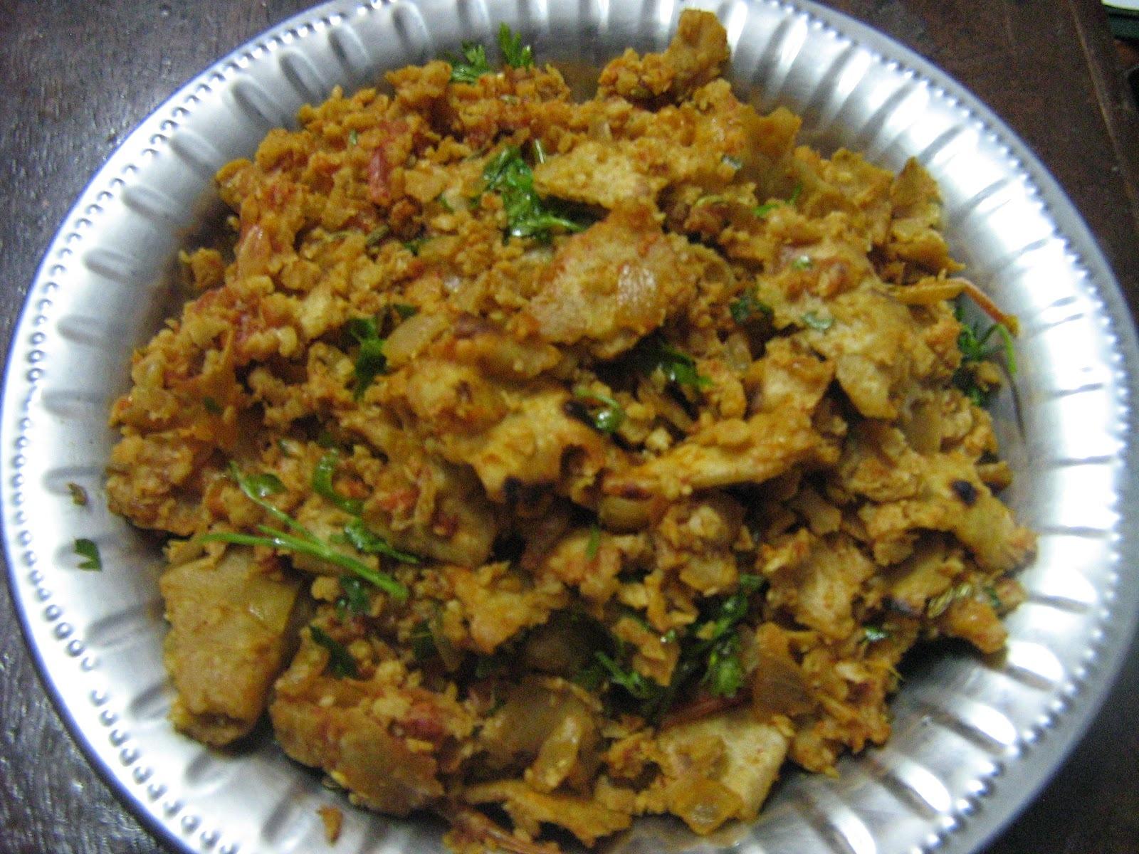 Soya kothu chapathi