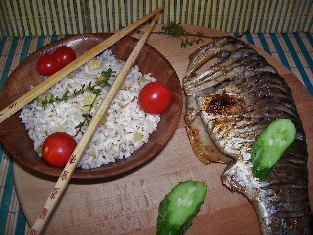 Kakukkfüves-grillezett-hal