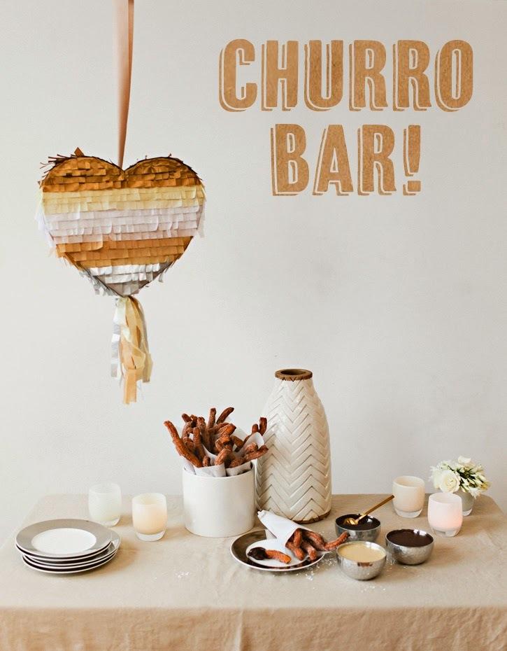 Fiesta de Churros con Canela y Chocolate