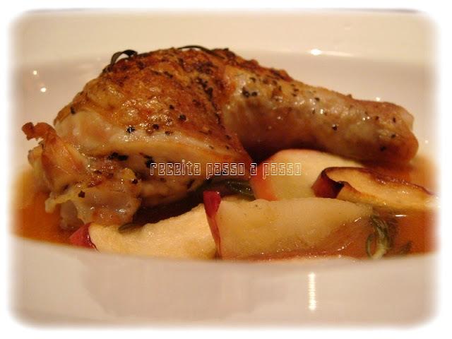 Frango Assado com Ervas Aromáticas / Roasted Chicken with Herbs