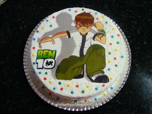 bolos decorados e simples
