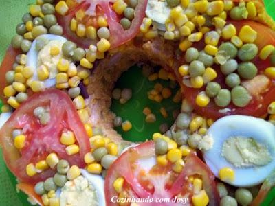 cuscuz de milho com ovo