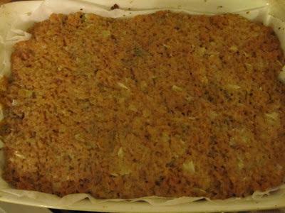 Assado de soja recheado com tofunese