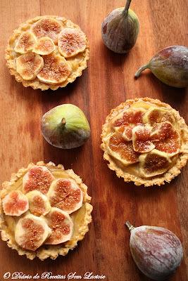 Tortinhas de Figos com Aveia Sem Lactose
