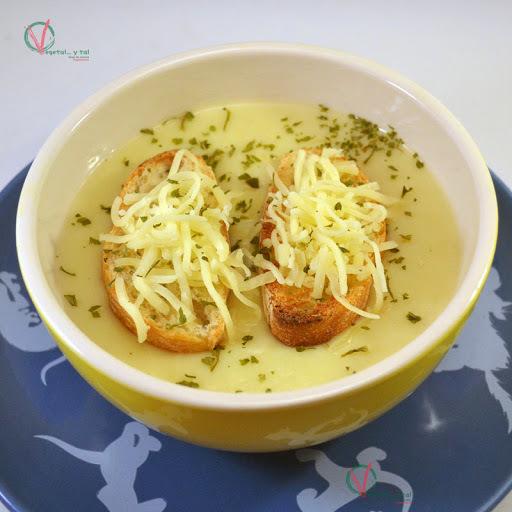 Crème du Barry (crema de coliflor y puerro)