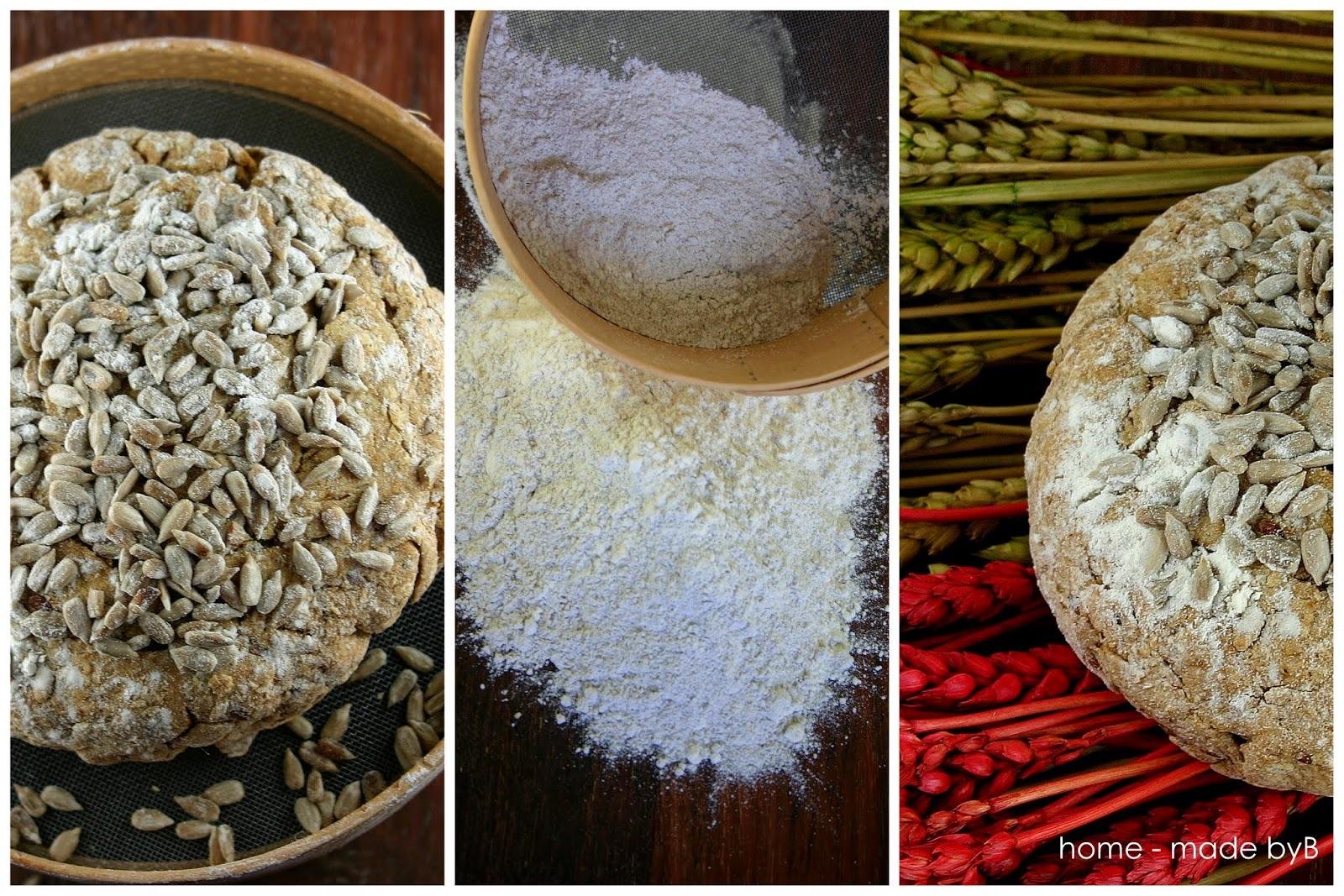 Beskvasni raženi kruh sa sjemenkama