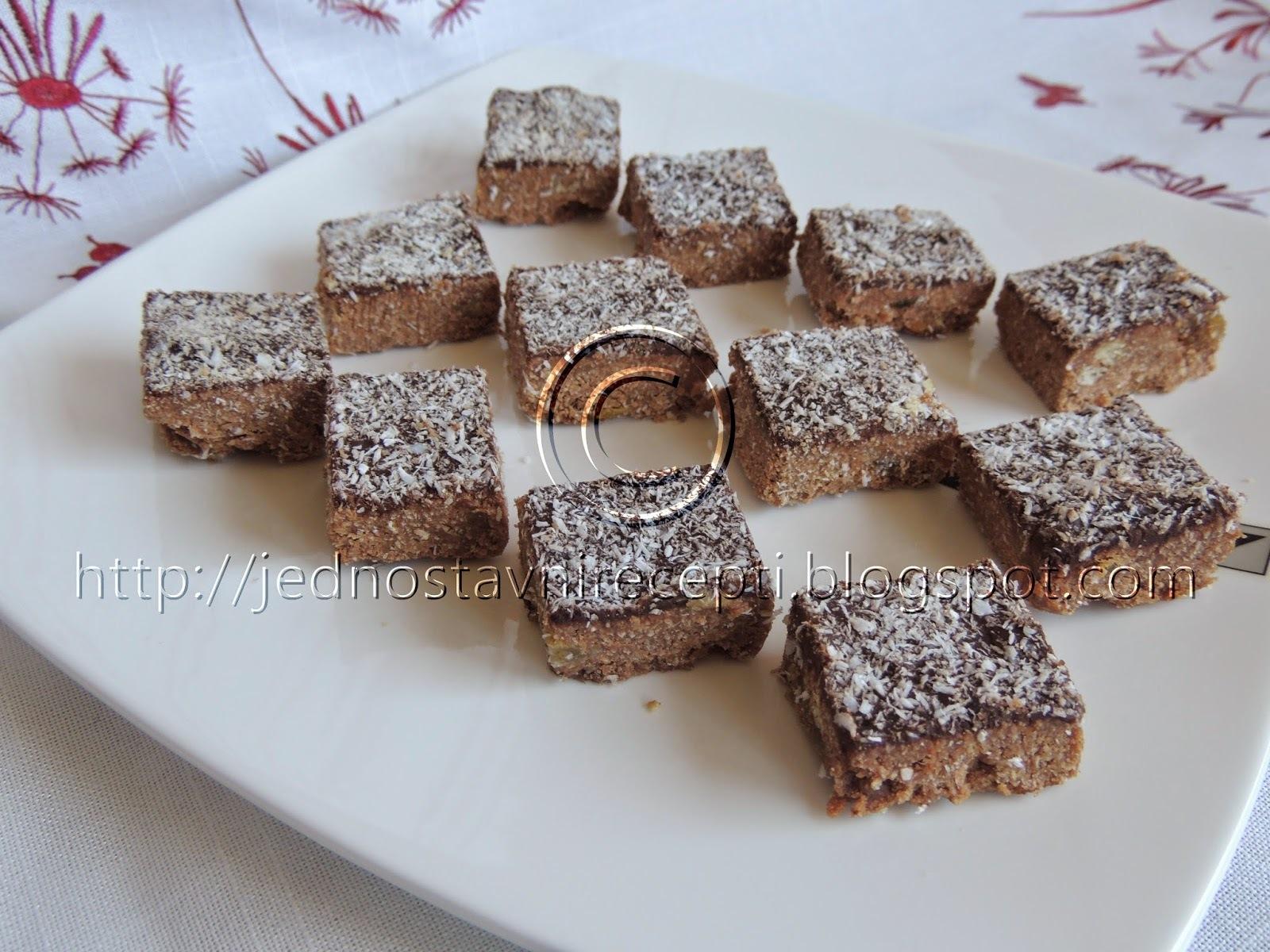 Kokos kolač sa mlevenim plazma keksom