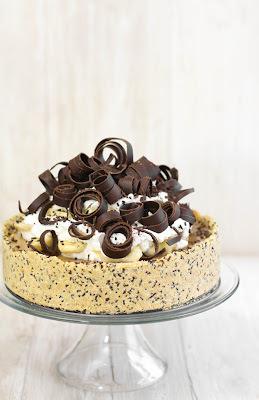 torta de banana com gelatina sem sabor