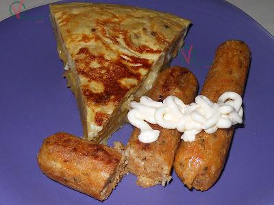 Salchichas veganas de tofu