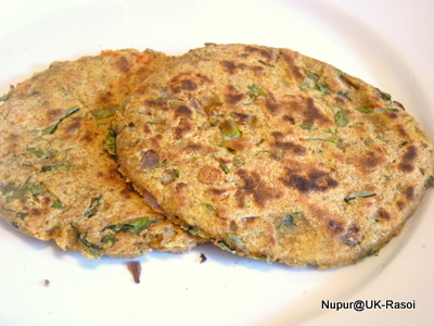 Thalipeeth : Mixed flour Roti