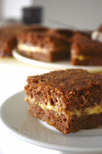 Carrot cake with butternut squash cream cheese