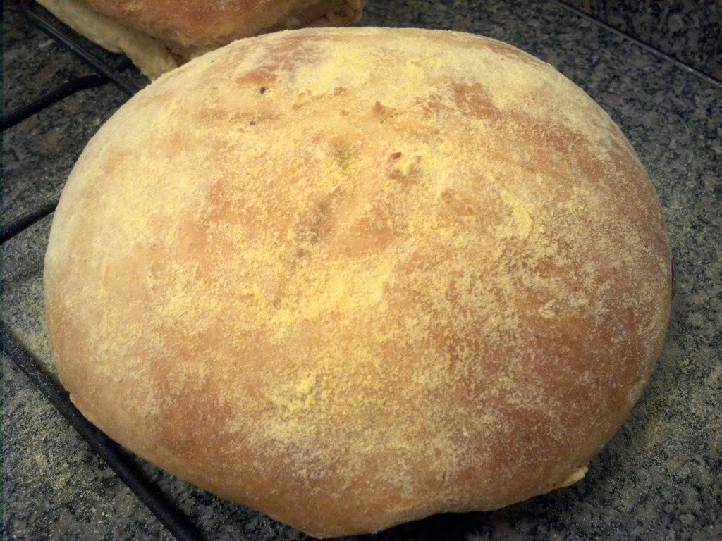 Pão de milho Caseiro - Receita de Miguel Wg