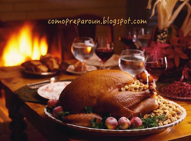 COMO PREPARO UN PAVO NAVIDEÑO - Receta para la cena navideña