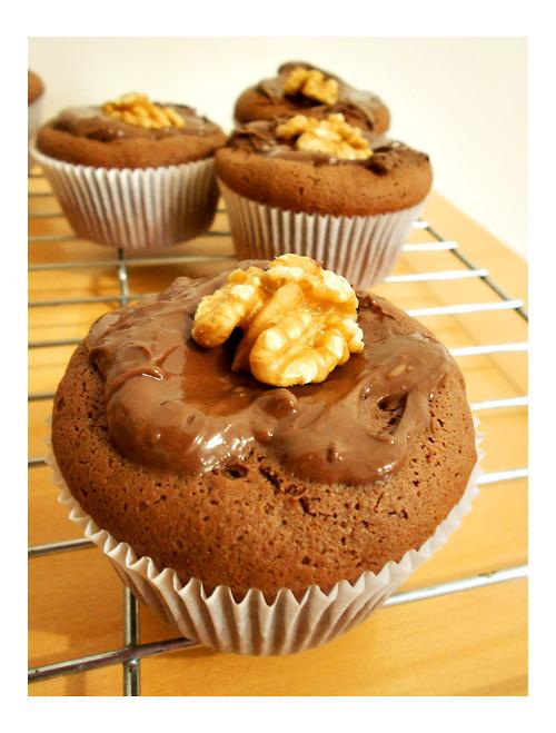 Cupcake de nutela com apenas 04 ingredientes