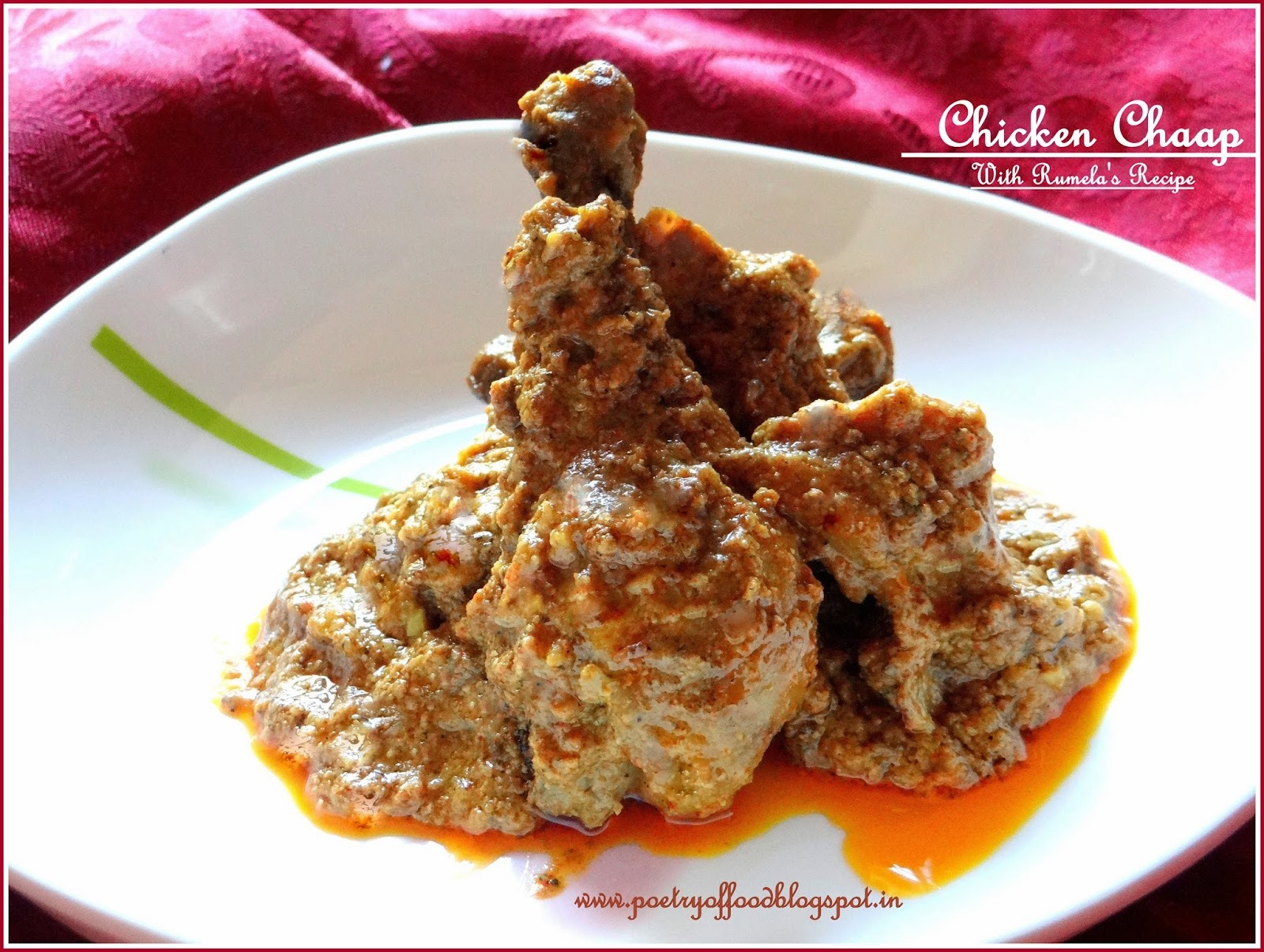 of chicken chaap by sanjeev kapoor