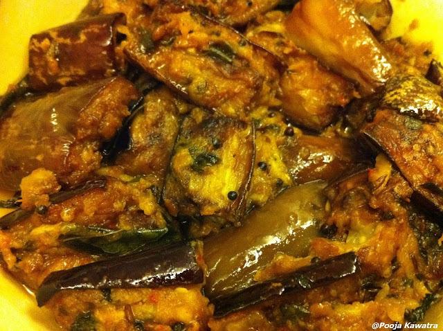 brinjal masala fry