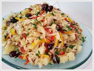 Salada de Bacalhau com Batatas