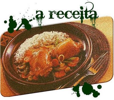 um conto, uma receita - sobrecoxas de peru ou frango, ao forno