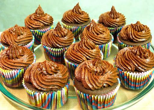 Receita: cupcake de cacau e doce de leite