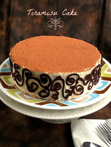 Tiramisu Cake ~ for the coffee lover in me!!!