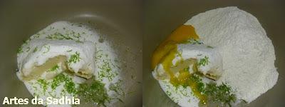 Tortinha de Limão  E PRESENTE HARALD