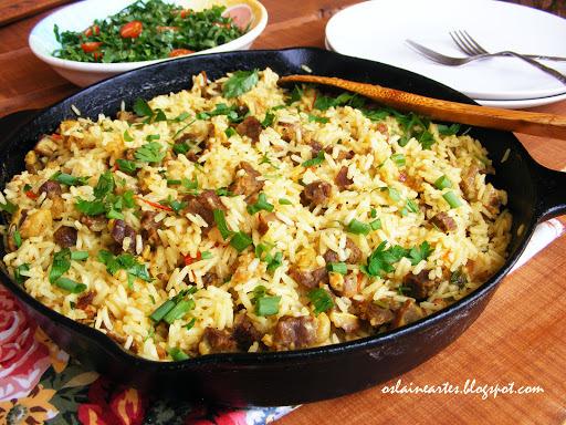 como fazer arroz maria isabel