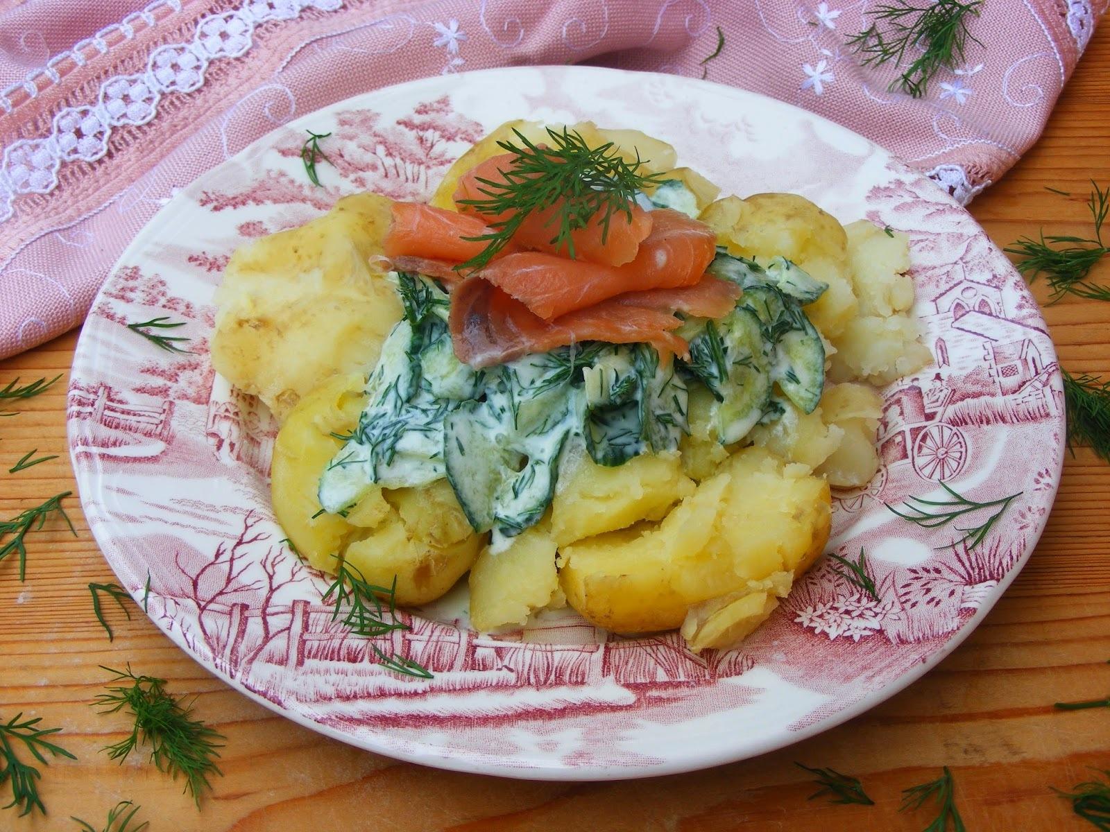 Lazacos újkrumplisaláta