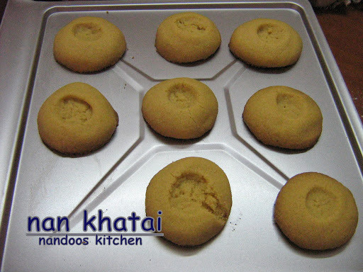 Nan Khatai / Eggless Indian cookies