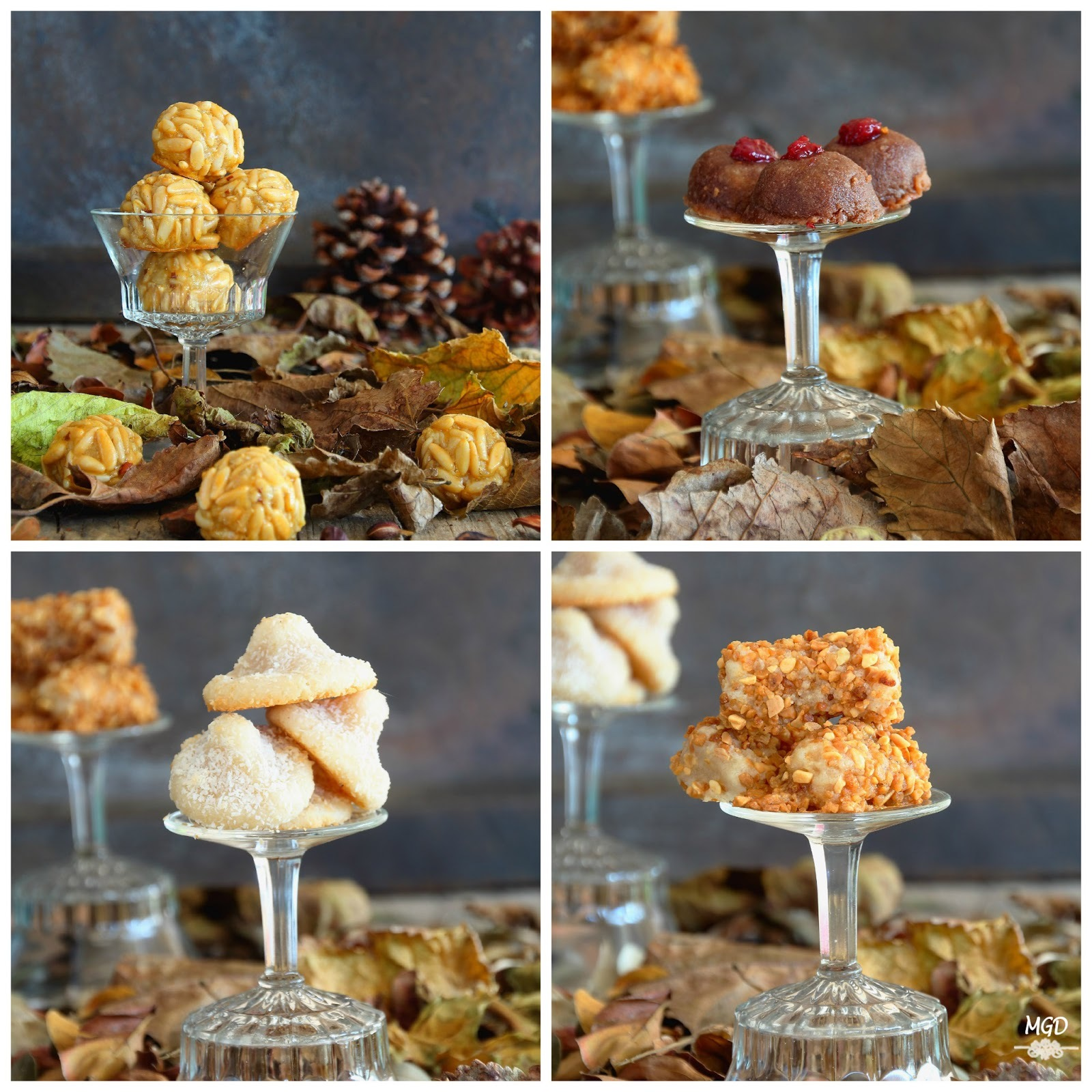 Surtido de Panellets II (Piñones, Coco, Chocolate y Almendra)