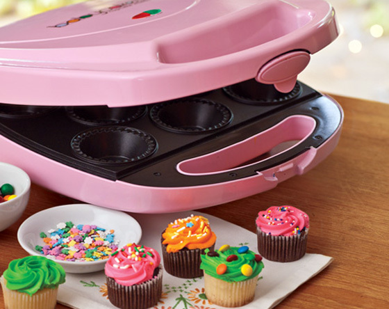 Cupcake de morango / Máquina de cupcake