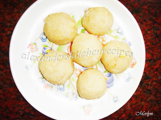 MOIST COCONUT LADDUS