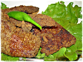 Bife de Fígado a Milanesa do Na Biroskinha